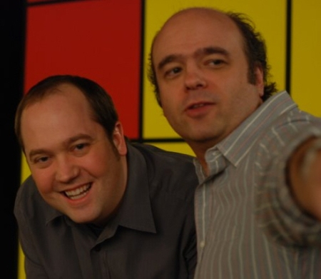 John Lutz and Scott Adsit