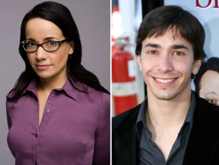 Janeane Garofalo and Justin Long