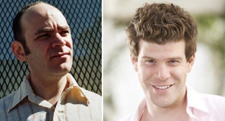 Todd Barry and Stephen Rannazzisi