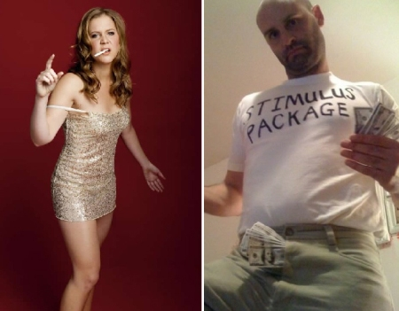Amy Schumer and Ted Alexandro