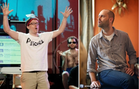 Chris Gethard and Ted Alexandro