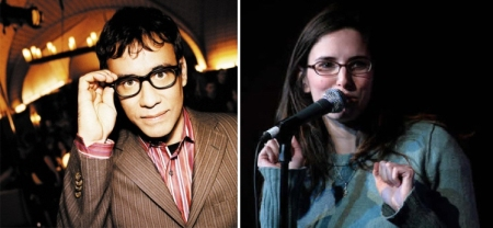 Fred Armisen and Jessi Klein
