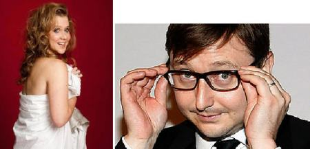 Amy Schumer and John Hodgman
