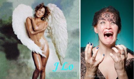 Jennifer Lopez and Mamrie Hart