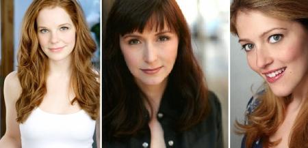 Julie Sharbutt, Jennifer Grace, and Sandy Rustin