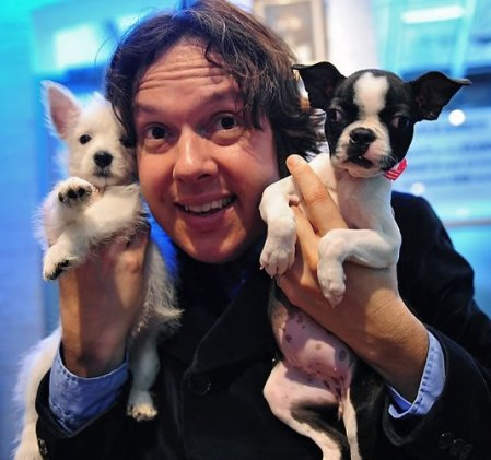 Dave Hill and dogs