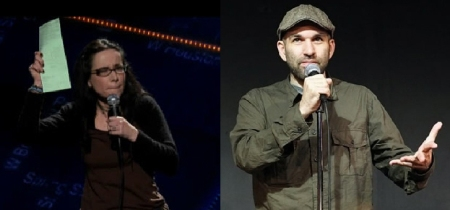 Janeane Garofalo and Andy Blitz