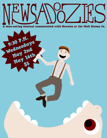 Newsadoozies: A Man-Eating Musical