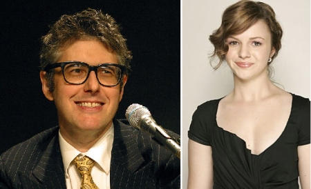 Ira Glass and Amber Tamblyn