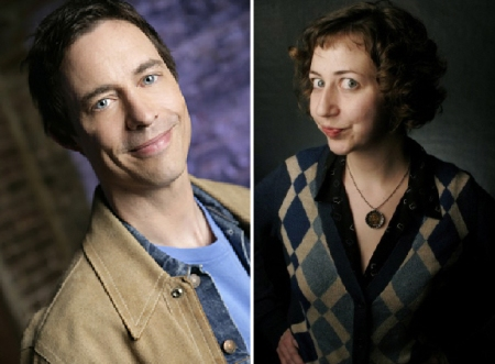 Tom Cavanagh and Kristen Schaal