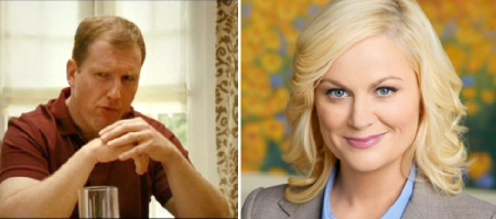 Ian Roberts and Amy Poehler