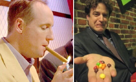 Matt Walsh and Matt Besser