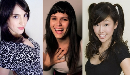 Mindy Raf, Camille Harris, and Esther Ku