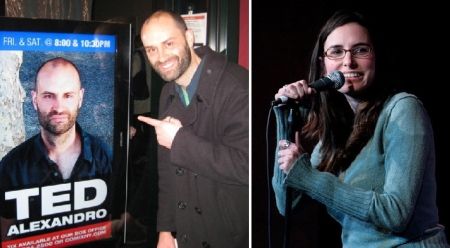 Ted Alexandro and Jessi Klein