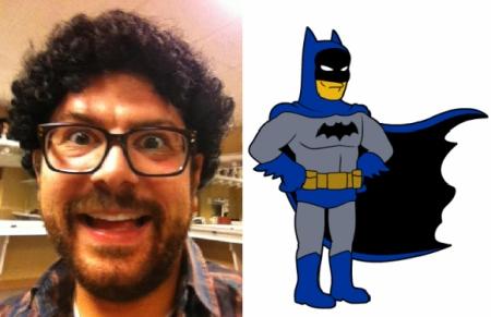 Joe Wengert is mini-Batman