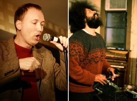 Tom Shillue and Reggie Watts