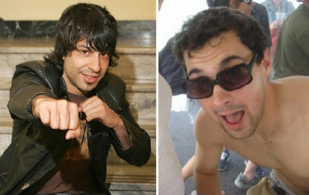 Arj Barker and Mark Normand