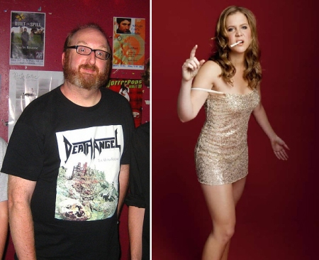 Brian Posehn and Amy Schumer