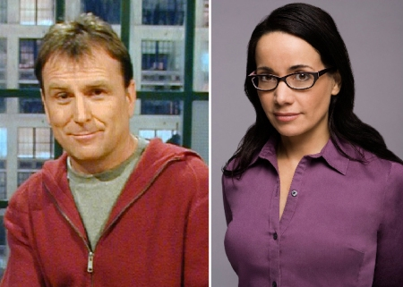 Colin Quinn and Janeane Garofalo