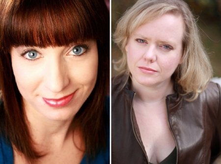 Ophira Eisenberg and Tracy Rowland