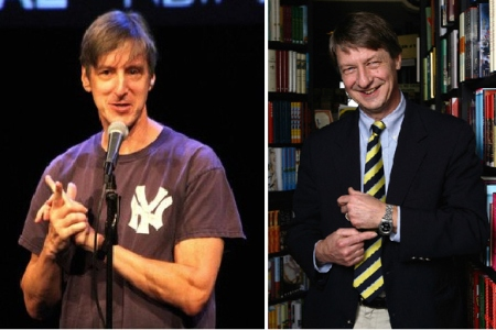 Andy Borowitz and P. J. O'Rourke