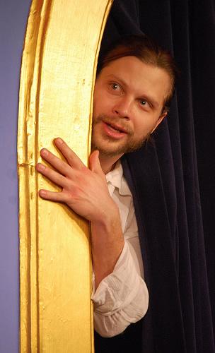 Blaine Swen of The Improvised Shakespeare Company