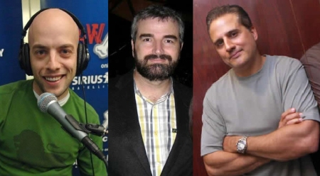 Pete Dominick, Alex Baze, and Nick DiPaolo