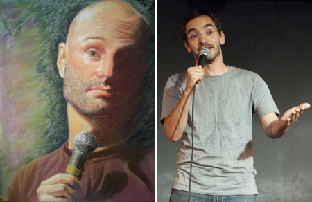 Ted Alexandro and Myq Kaplan