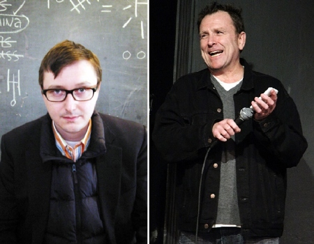 John Hodgman and Colin Quinn