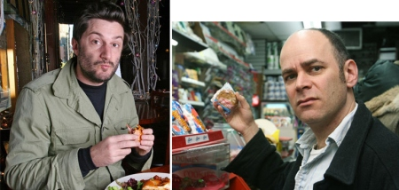 Michael Showalter and Todd Barry