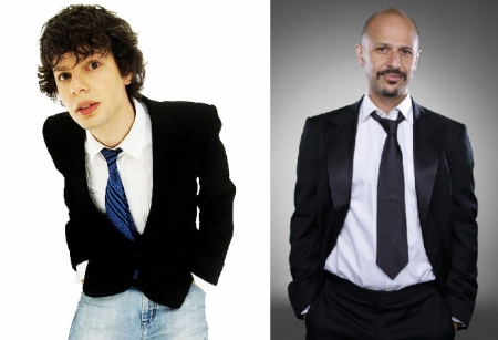 Simon Amstell and Maz Jobrani