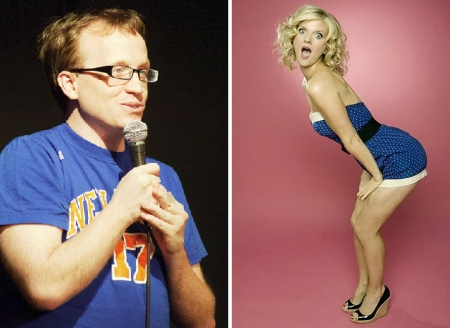 Chris Gethard and Arden Myrin