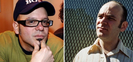 David Cross and Todd Barry