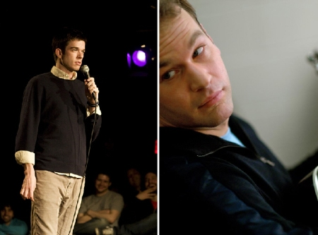 John Mulaney and Mike Birbiglia