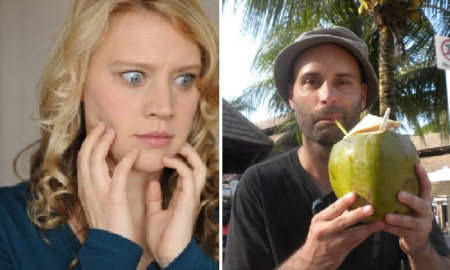 Kate McKinnon and Ted Alexandro