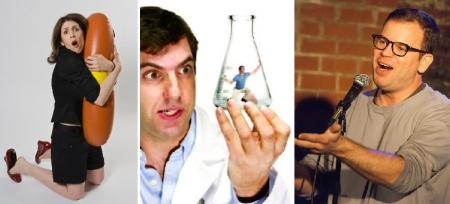 Robin Gelfenbien, A.J. Jacobs, and Adam Wade