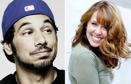 Al Madrigal and Molly Lloyd