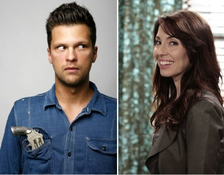 Julian McCullough and Whitney Cummings