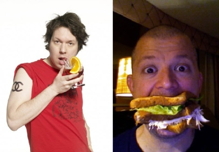 Dave Hill and Jim Norton
