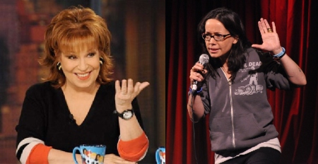 Joy Behar and Janeane Garofalo