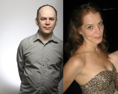 Todd Barry and Julie Sharbutt