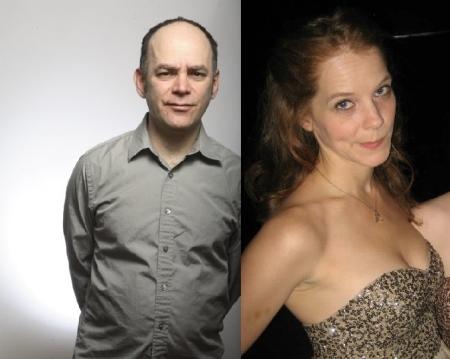 Todd Barry and Julie Sharbutt