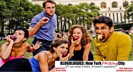 Blogologues: New York F#cking City