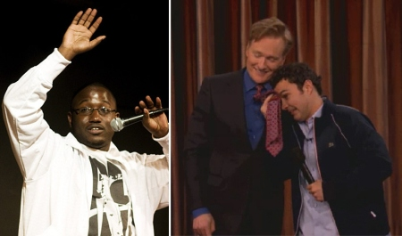Hannibal Buress and Mark Normand