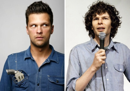 Julian McCullough and Simon Amstell