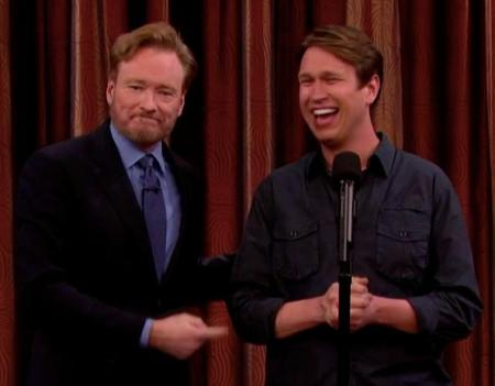 Conan O'Brien and Pete Holmes