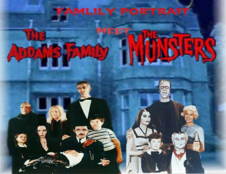 The Addams Family and The Munsters