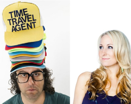Judah Friedlander and Nikki Glaser