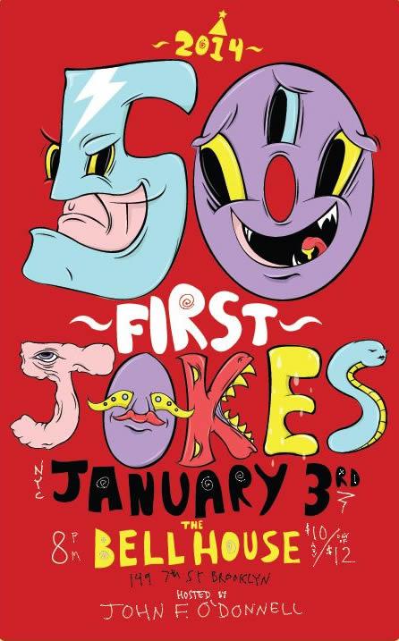 50 First Jokes 2014