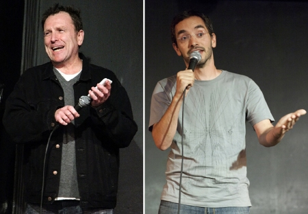 Colin Quinn and Myq Kaplan